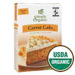 Simply Organic Carrot Cake Mix