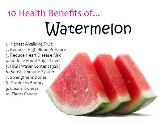 more Watermelon Benefits
